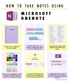 Saltwater & Studyblr How to take notes using Microsoft onenote Pin || @spriya9 ◇ Insta || @spriya_9 ◇