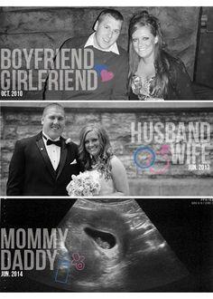 Pregnancy Announcement this is so cute!