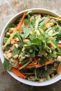Vietnamese Noodle Bowl Salad by Heather Christo, via Flickr