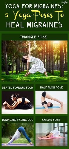 Yoga For Migraines: 5 Yoga Poses To Heal Migraines