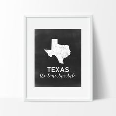 Texas Printable by SamanthaLeigh on Etsy