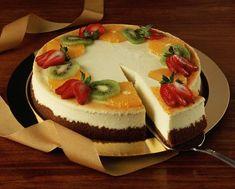 Творожный торт суфле