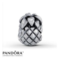 Authentic Pineapple Pandora Charm Pineapple pandora charm. Put on bracelet but never really worn before. Basically new. Retired / Discontinued item Pandora Jewelry
