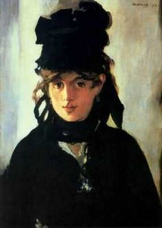Berthe Morisot, par Édouard Manet
