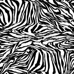 Zebra Black And White by Martina Stadler available for download on patterndesigns.com