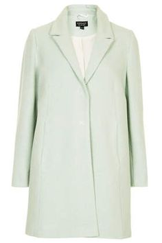 Mint Textured Swing Coat from Topshop!! I want this!!!