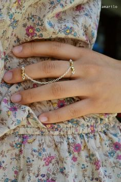 Ever since seeing one on the Man Repeller, I've been wishing for a ring (or rings?) like this.