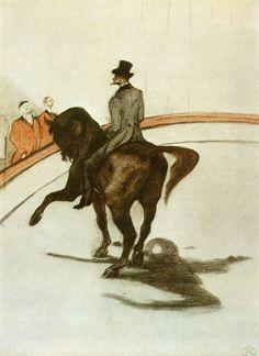 Au Cirque - Le Pas espagnol by Henri de Toulouse-Lautrec 1899.jpg