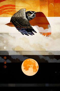 Moondance Craig Kosak Giacobbe-Fritz Fine Art