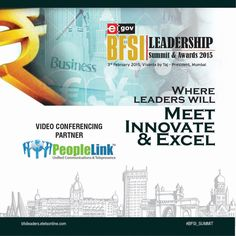 PeopleLink Joins as a Video Conferencing Partner for BFSI Leadership Summit & Awards 2015