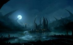 View, download, comment, and rate this 2560x1600 Ruins by the Lake Wallpaper - Wallpaper Abyss