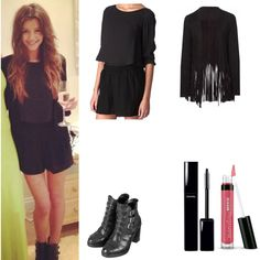 Eleanor Calder 5 by ayat-cl on Polyvore featuring Zara, Topshop, Bare Escentuals and Chanel