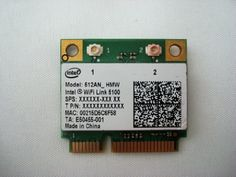 New Intel WiFi Link 5100 Half Size Wireless MINI PCIE Card 512AN_MMW 802.11a/b/g/n 2.4 GHz and 5.0 GHz 300 Mbps by Intel. $8.28. DESCRIPTION:  Intel Wireless Half Size Mini PCI 512AN_HMW WiFi Link Express 300Mbps IEEE 802.11n (draft), IEEE 802.11a/b/g The Intel WiFi Link 5100 Series is a family of IEEE 802.11a/b/g/Draft-N1 wireless network adapters that operate in both the 2.4 GHz and 5.0 GHz spectra.  These adapters, available in both PCIe* Mini Card and Half Mini Card ...