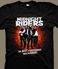 t-shirt - left4dead2 - midnight riders.