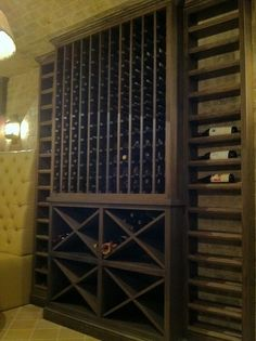 For the Finest in Custom Woodworking! Guildcraft serves the Atlanta area, creating high-end, custom millwork like custom old world wine cellars with tasting r. Wine Cellars, Wet Bars, Tasting Room, Custom Woodworking, Old World, Tall Cabinet Storage, Basement, Outdoor Structures, Gallery