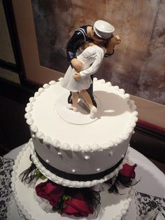 wwii cake topper