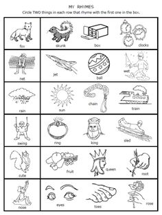 math worksheet : distal finger control exercises  fingers exercise and stickers : Rhyming Kindergarten Worksheets