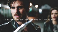 """""""If we can't find her I can damn well bring her to me"""" @colinodonoghue1  #CaptainSwan"""