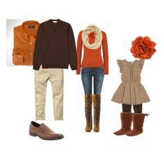 Sweet fall outfits makes me watch to photograph people in an apple orchard or pumpkin patch