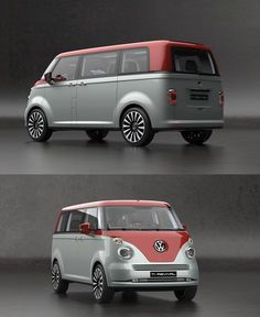 family car Its Hard To Argue With This Volkswagen Revival Concept Kombi Trailer, Vw T1 Camper, Volkswagen Routan, Volkswagen Bus, Volkswagen Models, K100 Bmw, Vw California Beach, Combi Wv, Vw Camping