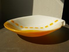 Fused Glass Collar bowl