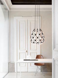 MESH | Pendant lamp Mesh Collection By LUCEPLAN design Francisco Gomez Paz