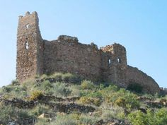Castillo de Azuebar Castellon .Spain .