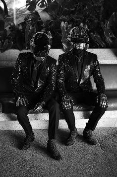 Daft Punk. Mathieu Cesar