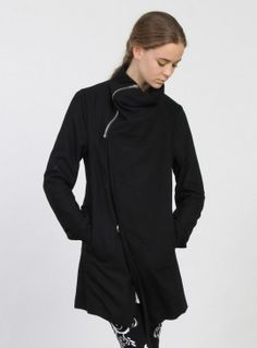 Federation +. WRAP COAT BLACK - Jackets - Tops - Womens | Official Online Store
