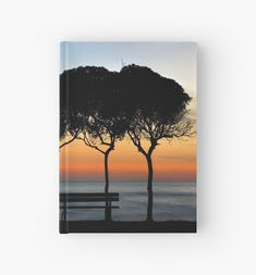 'No one there to enjoy the sunset' Hardcover Journal by Hercules Milas Journal Design, Most Beautiful Beaches, Beach Look, Sunrises, Hercules, Travel Destinations, Greece, Romantic, Popular