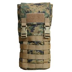 OPS MOLLE HYDRATION CARRIER : OPS MOLLE HYDRATION CARRIER IN WOODLAND MARPAT
