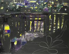 View Frangipani Night I by Ken Done on artnet. Browse upcoming and past auction lots by Ken Done. National Art School, Kendo, Australian Artists, Art Auction, Printmaking, New Zealand, Past, Branding Design, Night