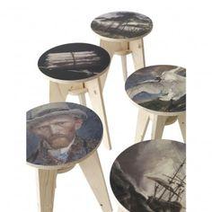 Plywood stools | Piet Hein Eek