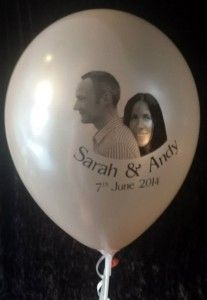 Sarah and Andy's Photo Balloons