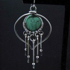 Lotus Petal Fringe Earrings | JewelryLessons.com