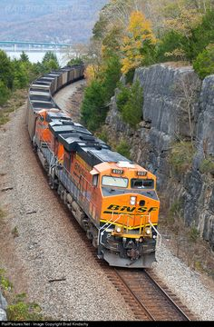 RailPictures.Net Photo: BNSF 6137 BNSF Railway GE ES44AC at Ladds, Tennessee by Brad Kindschy