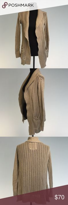 Sunday Best Cardigan Effect condition- worn a few times- purchased from Aritzia Sunday Best Sweaters Cardigans