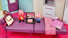 Свинка Пеппа в гостях у Барби