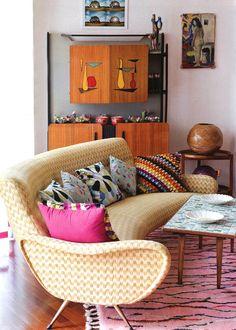 Margherita Missoni apartment in Milan