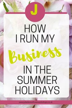 How do you balance being a working mum and looking after your children in the summer holidays?