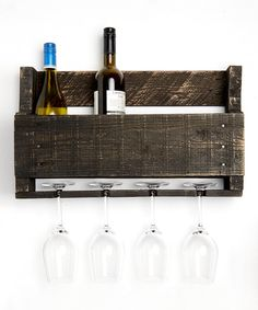 Listing for 1 wine rack    We can personalize for 8.00    Made out of %100 reclaimed wood, this piece is sure to catch attention in your house