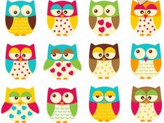 Clipart - Owl So Cute