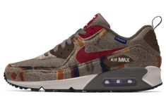 new product c3659 597a4 NIKEiD Just Added New Pendleton Options For The Nike Air Max 90 NIKEiD just  dropped a