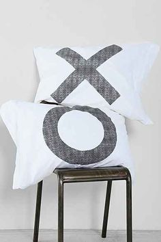 The Rise And Fall XO Pillowcase - Set Of 2