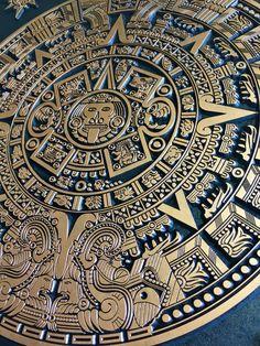 Aztec Symbols, Mayan Symbols, Norse Symbols, Ancient Symbols, Egyptian Symbols, Art Chicano, Chicano Tattoos, Tattos, Aztec Warrior Tattoo