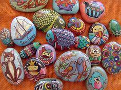 Diy easy animal painted rocks ideas to make nice painters stone art Rock Painting Ideas Easy, Painting For Kids, Diy Painting, Pebble Painting, Pebble Art, Stone Painting, Turtle Painting, Stone Crafts, Rock Crafts