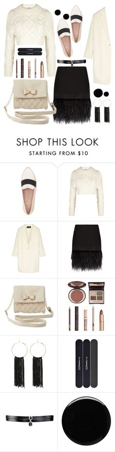 """The Bad News"" by felicitysparks ❤ liked on Polyvore featuring Kate Spade, DKNY, Donna Karan, Polo Ralph Lauren, Charlotte Russe, Charlotte Tilbury, Bebe, MAC Cosmetics, Fallon and Deborah Lippmann"