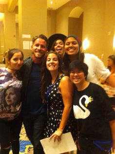 Sean Maguire meeting fans at Regal_Con 09 May 2015