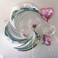 medium aluminum foil balloon blue silver moon ballon for wedding birthday party supplies pure globos Diy Party Decorations, Balloon Decorations, Grad Parties, Birthday Parties, Birthday Ideas, Happy Birthday, My Sweet Valentine, Luxury Girl, Baby Shower Gender Reveal