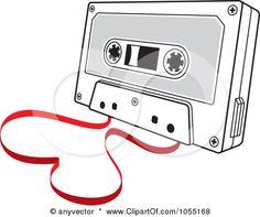 long song cassette tape,,.. 80's backdrop